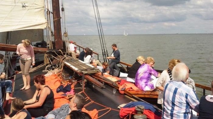 wochenende segeln ijsselmeer