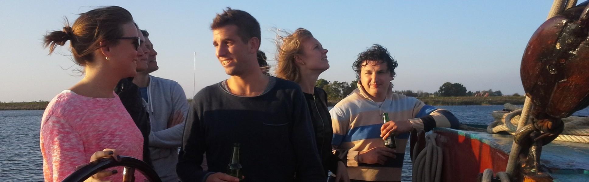 Wochenende Segeln mit Freunden