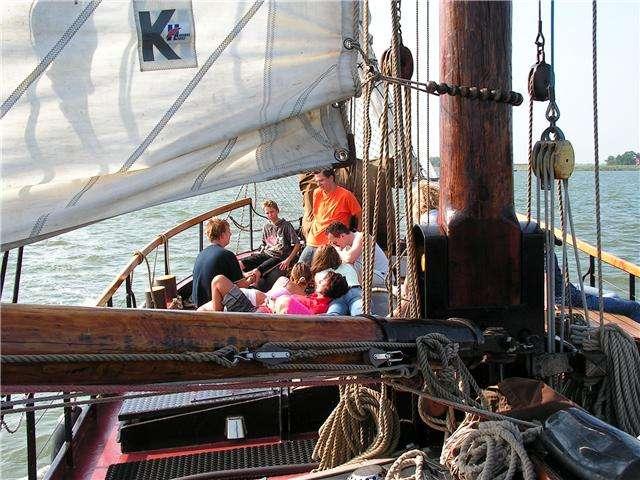 Klassenfahrt Segeln IJsselmeer