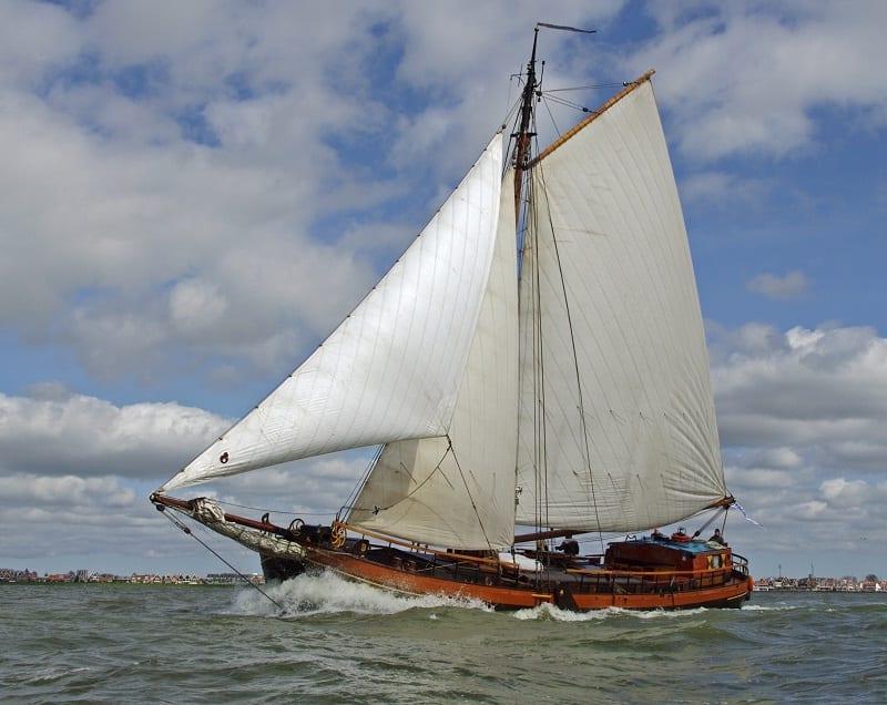 Catharina van Mijdrecht zeilen IJsselmeer
