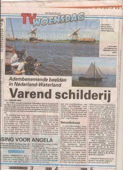 Nederland Waterland Telegraaf