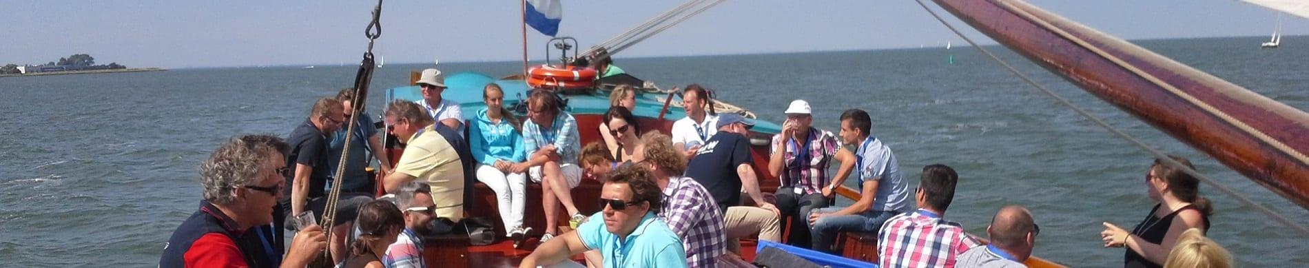Betriebsausflug Segeln auf das IJsselmeer