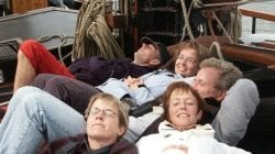Segeln auf IJsselmeer im Holland