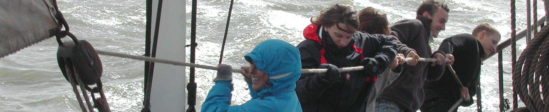 Klassenfahrt IJsselmeer